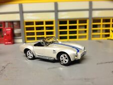1/64 1960's Shelby Cobra in Silver/Blk int with a 427 Side-Oiler 4 Speed
