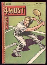 4 Most (1942) V6 #3 1st Print Dick Cole Tennis Cover Cadet Tex Blaisdell VG+