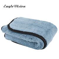 800gsm 45cmx38cm Microfiber Super Thick Plush Car Care Cleaning Cloths Towel