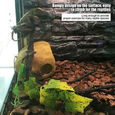 Artificial Branch Terrarium Cage Decor Reptiles Vine Climber Jungle Forest Bend