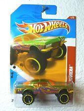 Metallic Lime 2012 Hot Wheels '71 BUICK RIVIERA #216 Thrill Racers - Prehistoric