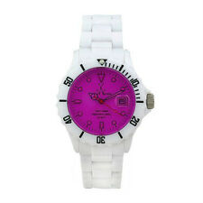 Toy Watch Unisex Crystal Plasteramic Watch FL01WHVL