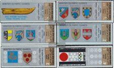 Nordjemen (Arabische Rep.) 818A-823A (kompl.Ausg.) postfrisch 1968 Wappen Austra