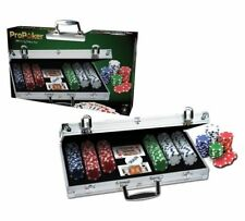 Genuine ProPoker Professional 300 Chip Poker Set in Aluminium Case