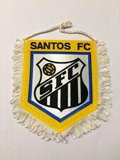 Santos FC fanion vintage foot football banderin pennant wimpel