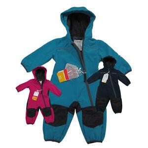 Outburst Softshelloverall Softshellanzug Kinder Matschanzug Wasserdicht Gr.74-98