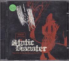 STATIC DISASTER - the U.K. in the red records sampler CD