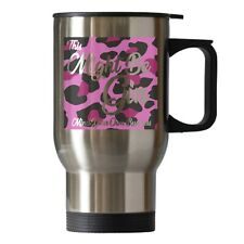 Gin Drinker Funny Novelty Gift Travel Thermal Cup Mug Silver