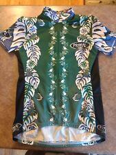 Women's S Primal Wear 3/4 Zipper Short Sleeve Cycling Jersey Shirt Biking Floral