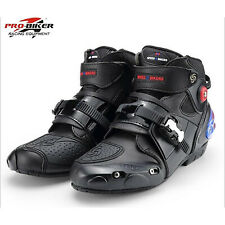 Race Riding Tribe Male Motorcycle Racing Ankle Joint Protection Speed Bike Boots