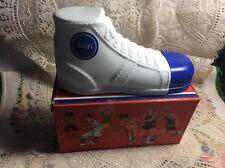 Vintage Super Shoe Liquid Hair Trainer 6 Fl Oz Decanter W/Box