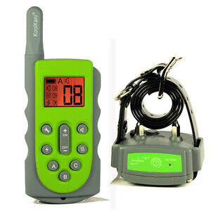 600Meter Rechargeable Submersible Remote Dog Training System Pet Trainer Collar