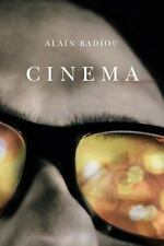 Cinema by Alain Badiou (2013, Paperback) - Like New