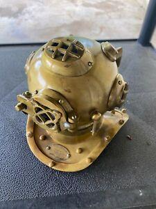 W6) Diving Helmet Vintage U S Navy Mark V Nautical Diver's Choice Maritime