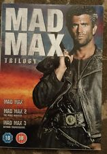 MAD MAX TRILOGY DVD MAD MAX 1 / 2 ROAD WARRIOR / 3 BEYOND THUNDERDOME MEL GIBSON
