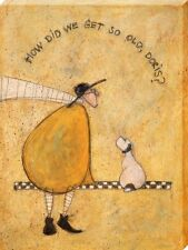 Sam Toft How Did We Get So Old Doris? Canvas Print 30 x 40cm