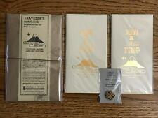 Midori Traveler's Notebook Narita Airport Edition Regular Leather Cover 17 Set