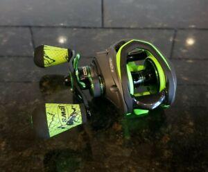 Lew's Mach II MH2SHLA Baitcast Fishing Reel 7.5:1 Green Left Hand