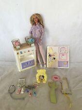 Pregnant Barbie Midge Doll Happy Family Baby Nikki's Doctor Playset Rare