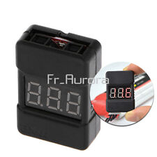 BX100 Voltage Tester Low Voltage Buzzer Alarm Dual Speaker For 1-8S Lipo Battery