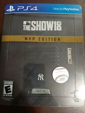 Sony MLB The Show 18 MVP Edition PS4 Game *Unused Codes*
