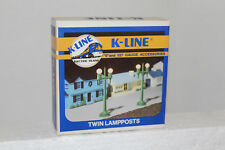 K-Line #K109 Twin Lamp Posts ( 2 in Box)