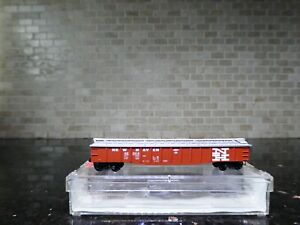 N SCALE PREMIERE EDITIONS NEW HAVEN 50' COVERED GONDOLA RD# 62004