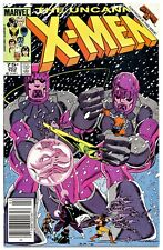 1)UNCANNY X-MEN #202(2/86)BEYONDER/SENTINELS/WOLVERINE(NEWSSTAND)CGC IT(9.0/9.2)