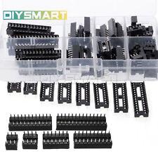 66pcs DIP IC Sockets  Solder Type Socket Kit 6/8/14/16/18/20/24/28 pins AU