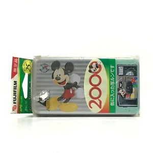 *Sealed* Fujifilm Limited Utsurundesu Disney 2000 Years Anniversary