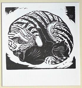 John Nash RA (1893-1977) Original Wood Engraving Ltd Ed. Mounted  [lk Paul ]..