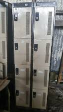 Reclaimed 8 Door Metal Lockers - 2 available