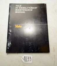 Yale Hi Visibility Nast Maintenace Manual (Inv.41133)
