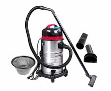 NEW INDUSTRIAL COMMERCIAL BAGLESS DRY WET VACUUM CLEANER 30L STAINLESS STEEL