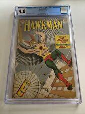 Hawkman #4 CGC 4.0 / Origin and 1st appearance of Zatanna / DC Comics 1964
