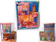 "1988 Hasbro/Meritus MAXIE CITY SCENE HOUSE 14009 Complete w/Box for 11-12"" Dolls"