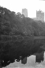 1910s DURHAM #2 Cathedral Antique Photographic Glass Negative (River Wear 1911)
