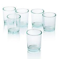 Sostenedores de vela votiva vidrio Luz De Té-Claro 2.5 pulgadas 24 Pack