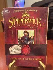 The SPIDERWICK CHRONICLES (DVD,2008) Two-Disc Field Guide Edition/Mfg. Sealed
