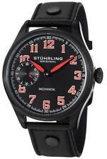 Stuhrling Original Men's 457.335575 Aviator Analog Display Mechanical Hand Wind