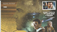 2017 CANADA POST - STAR TREK II THE WRATH OF KHAN - OFFICAL FIRST DAY COVER