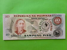 Philippines 10 Piso Commemorative 1981 (UNC),  16pcs Running Number Available
