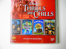Disney Halloween Chills and Themepark Thrills Disneyland Inspired Movies 4 Pack