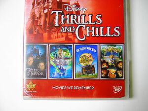 Disney Halloween Chills and Themepark Thrills Disneyland Inspired Movies 4 Pack