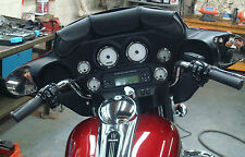 PVC 3 POUCH WINDSHIELD BAG FOR FLHT HARLEY DAVIDSON WITH FAIRING