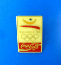 1992 Barcelona Olympic Pins From Coca Cola