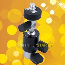 Flash Mount Speedlite Hotshoe Adapter Tripod Ball Head Diffuser Umbrella Holder