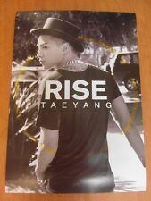 TAEYANG (BIGBANG) - Rise [OFFICIAL] POSTER *NEW* K-POP