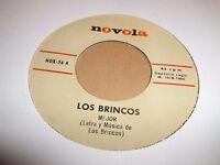 """LOS BRINCOS """" MEJOR / I TRY TO FIND """" 7"""" SINGLE EXCELLENT NOVOLA NOX-26 (1966)"""