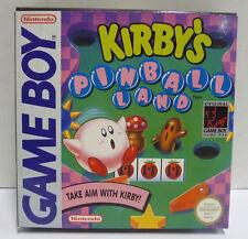KIRBY'S PINBALL LAND - NINTENDO GAME BOY GB PAL REGION FREE BOXED